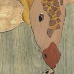 Wedding Favor - Ebens (Giraffe & Turtle). 2016. Mayan Walnut, Zebrawood, Blue Pine, Ash, Chakta Viga, Shedua, Chechen, Cherry, Walnut, Ebony, Bubinga, Jatoba, Canarywood, European Beech, Spalted Maple, Black Limba, Mahogany, Lyptus